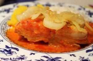 Bacalhau ao molho de tomates_F&F