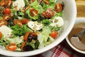 Salada com molho de mostarda balsâmico e mel_F&F