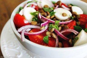 Salada caprese com lentilhas2_F&F