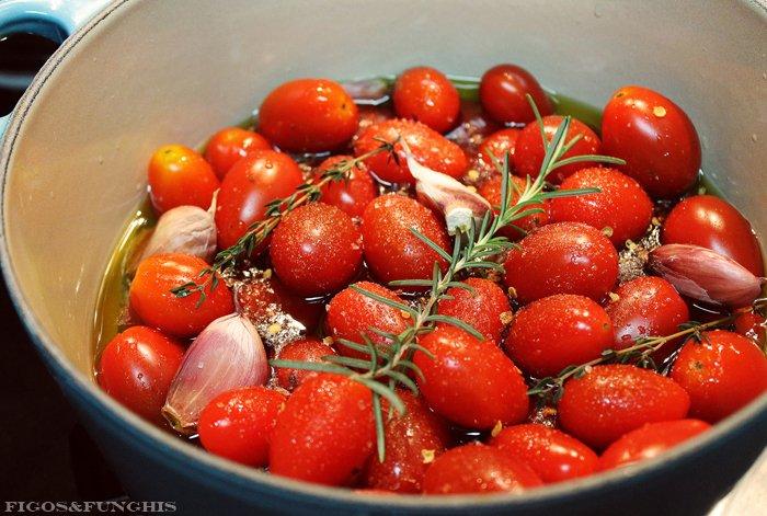 Tomates confit com alho_F&F