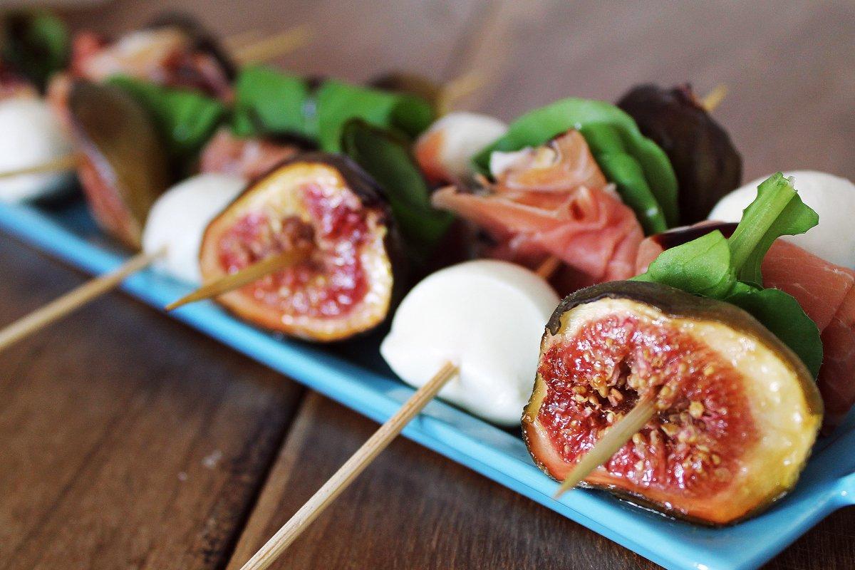 Espetinhos de figo, parma e mozzarella_2F&F