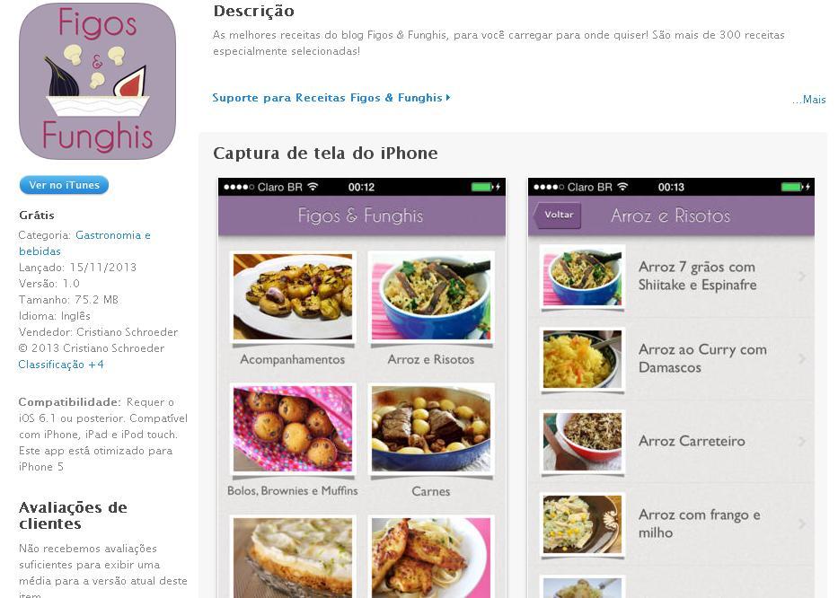 App Figos e Funghis