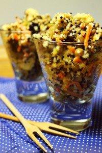 Salada de grãos e frango_F&F