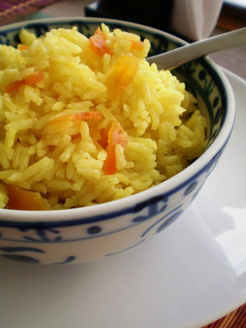 Arroz ao Curry com Damascos_2