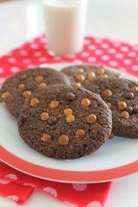 Cookies de Chocolate amargo_F&F