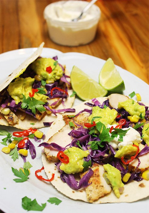 Tacos de frango light2_F&F