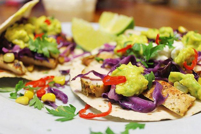 Tacos de frango light_F&F