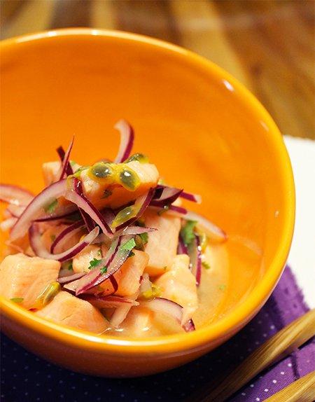 Ceviche de Salmão com Maracujá_Blog Figos & Funghis