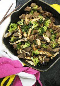 Carne com Brócolis2_Figos & Funghis
