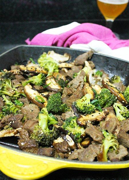 Carne com Brócolis_Figos & Funghis