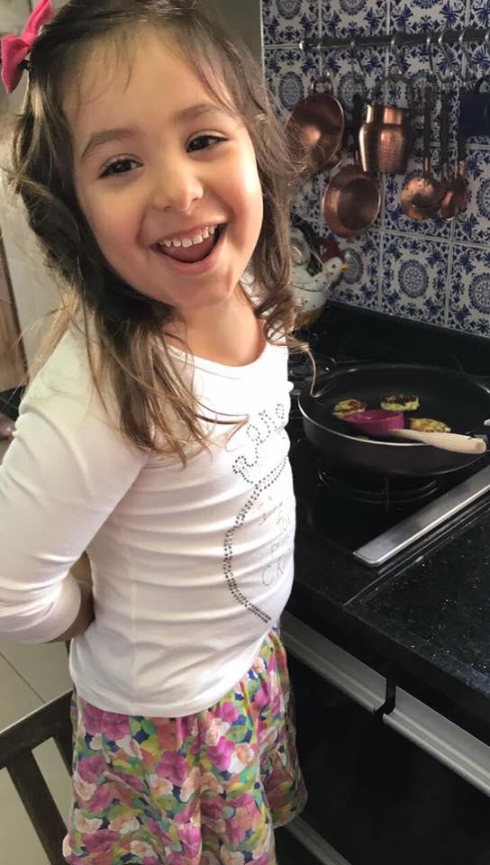 OLI na cozinha