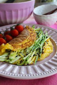 Omelete Oriental Fácil