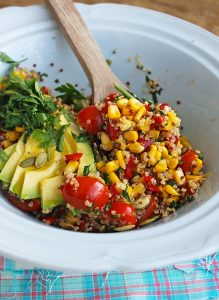 Salada de Milho com Quinoa
