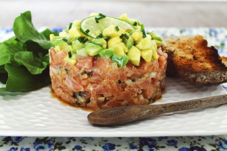 Tartar de salmão_F&F