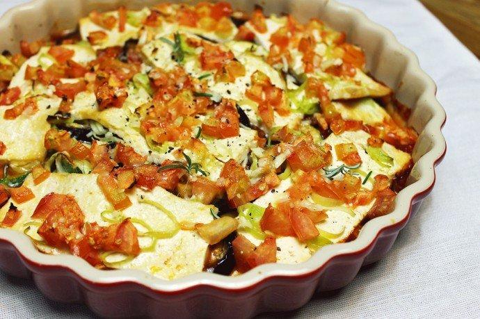 Legumes gratinados com tofu2