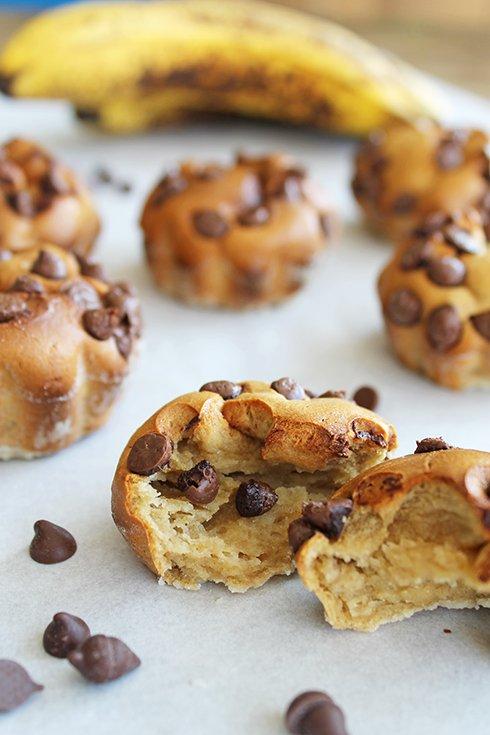 Mini Muffins de Banana e Amendoim sem Açúcar3_Figos e Funghis